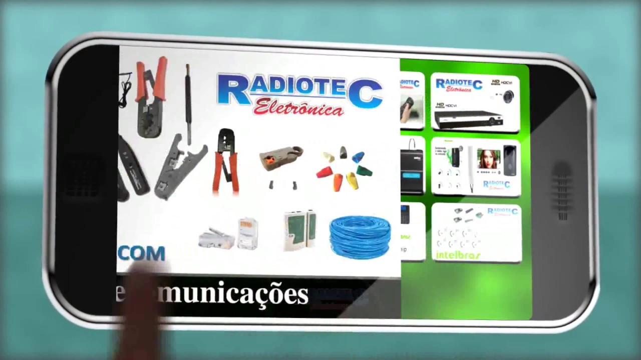 325743ef93d Radiotec Produtos - YouTube