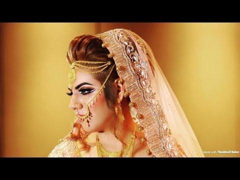 Tradition Pakistani Bridal Makeup Transformation  Asian Bridal