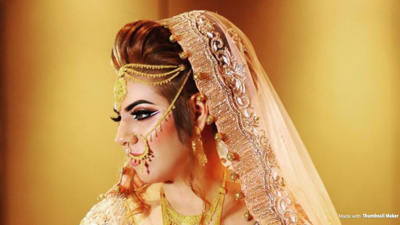 Tradition Pakistani Bridal Makeup Transformation - Asian ...