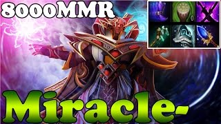 Dota 2 - Miracle- 8000MMR Plays Invoker vol 23 - Ranked Match Gameplay