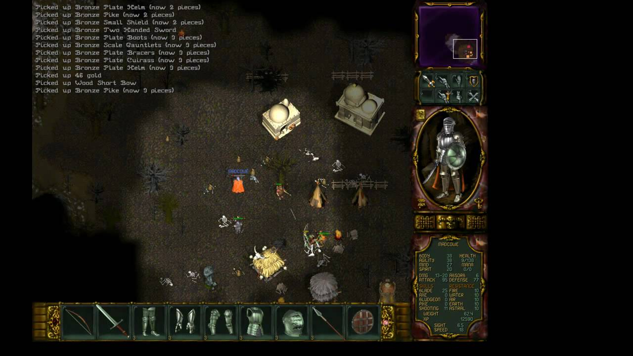 Rage Of Mages Ii Necromancer Review Part 3 Muddle Map