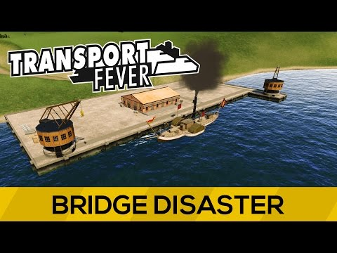 Transport Fever Europe Campaign Mission 2 | Bridge Disaster