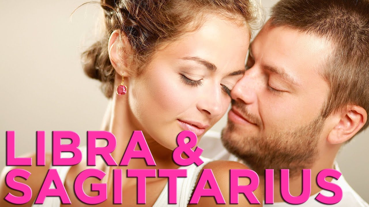 Libra man sagittarius woman love relationship
