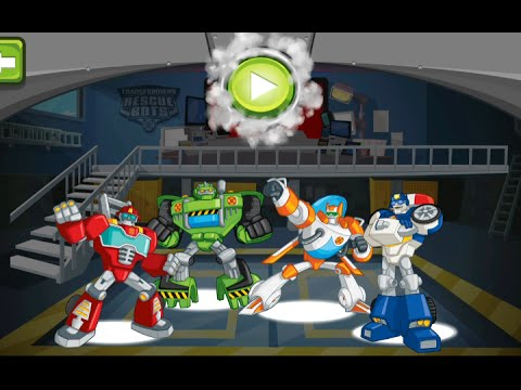 """Transformers Rescue Bots Hero """"Budge Adventure Action Games"""" Android Apps Game Video"""