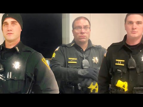 Fire Them : GANG like TYRANTS threat with FALSE CHARGES! ID and SEARCH EVERYONE! 1st amendment audit