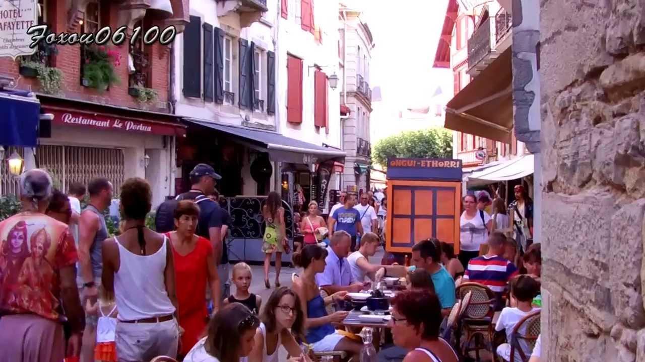 Saint jean de luz le centre ville youtube - Euskal linge st jean de luz ...