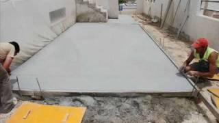 NOGOSA - Proceso de aplicación de pavimento de hormigón impreso