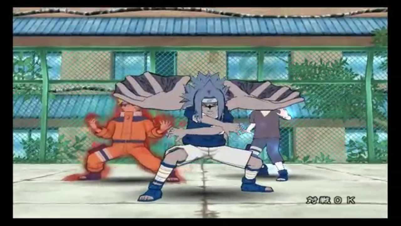 naruto gekitou ninja taisen 4 para gamecube