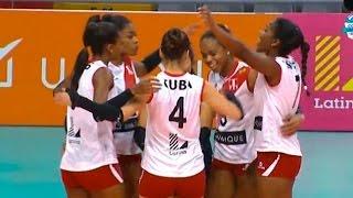 Copa Latina U20: revive el tercer set del triunfo de Perú sobre Cuba