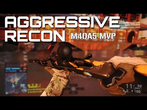 Sunken Dragon Aggressive Recon MVP - Battlefield 4