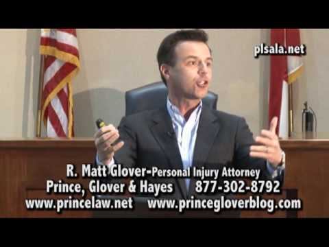 The People's Law School - Alabama: Attorney Matt Glover - Personal Injury Attorney