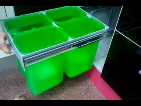 Cubo de basura ekko easy extracci n total youtube - Cubo basura reciclaje ...
