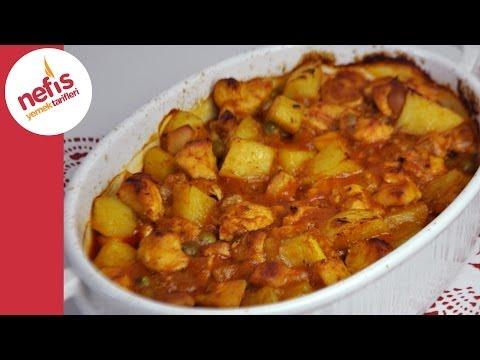 fırında sebzeli tavuk yemeği  nefis yemek tarifleri