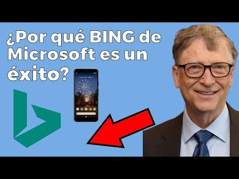 ¿Por Qué Bing El Buscador De Microsoft Es Un ÉXITO Si Casi Nadie Lo Usa?