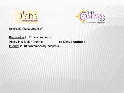 D\u0027sha- Course/ Career Aptitude Test for High School Students - YouTube - career aptitude test