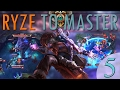 RYZE TO MASTER 5 THE AUTOATTACK GOD