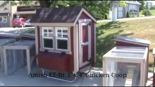 Amish Ez-fit 3' X 4' Chicken Coop