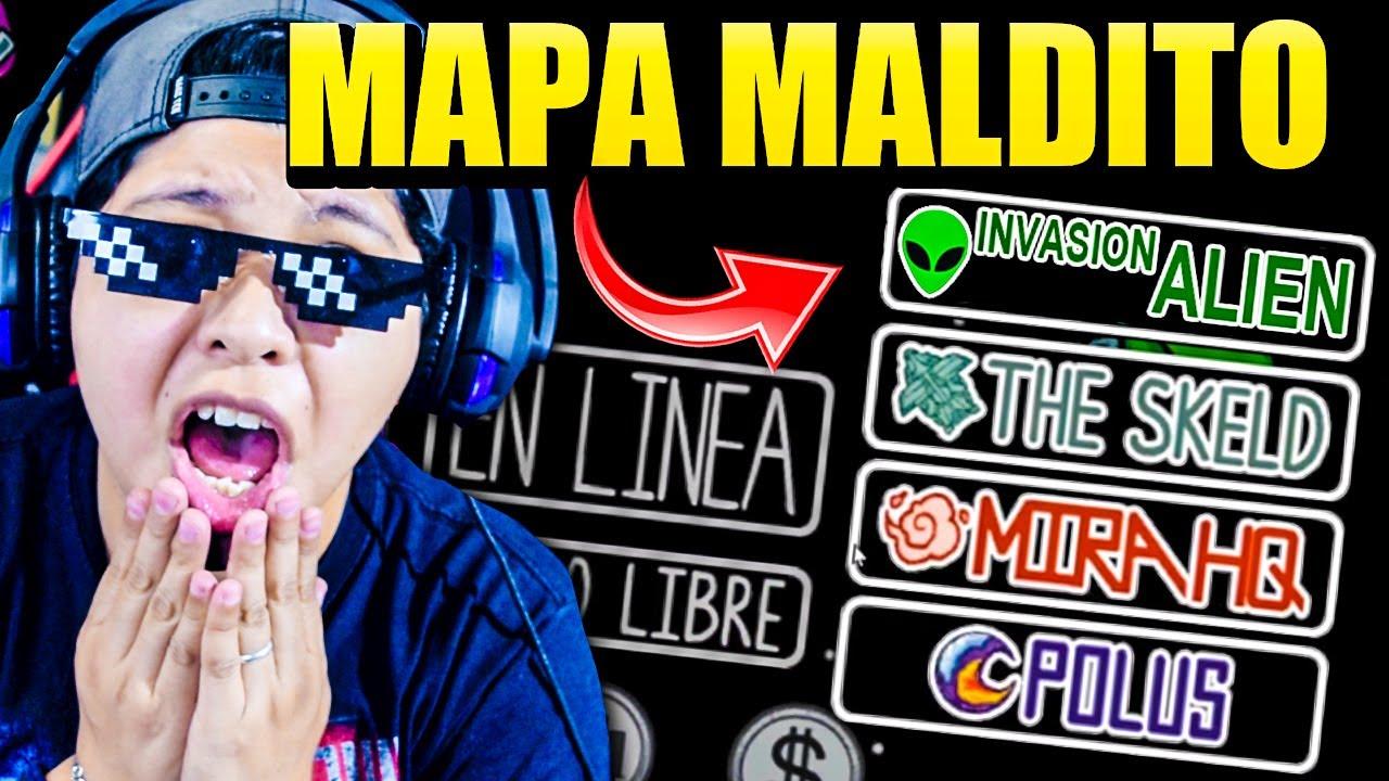 Download ENTRAMOS AL MAPA SECRETO Y MALDITO DE AMONG US DESTRUIDO POR ALIENS 😱👽   Me asustaron   Pathofail