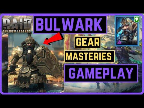 Bulwark | Live Build | Gear | Masteries | NM CB Gameplay | RAID SHADOW LEGENDS
