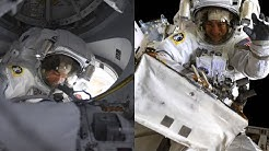 NASA Astronauts Spacewalk Outside the International Space Station on Jan. 15, 2020