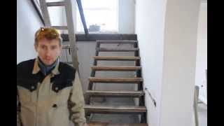 лестница своими руками(решил сделать сам лестницу., 2015-09-30T20:03:13.000Z)