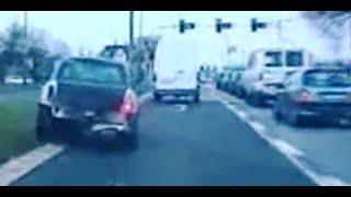 Szaleńczy pościg za zawodowym kierowcą ambulansu (205 pkt karnych) / Wild Police pursuit Mini Cooper