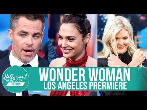 Gal Gadot, Chris Pine, Elena Anaya, Samantha Jo & more | WONDER WOMAN Los Angeles Premiere (2017)