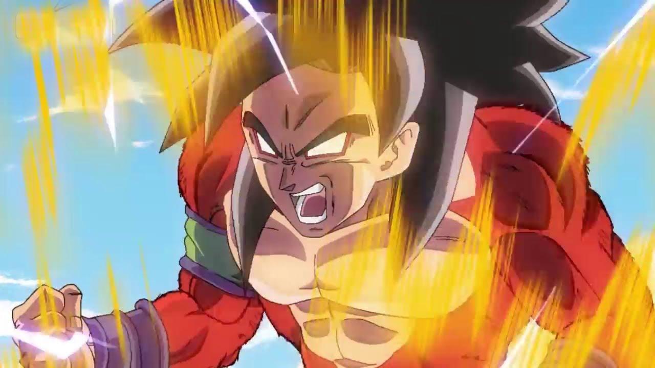 Goku Se Transforma En Super Saiyajin 5