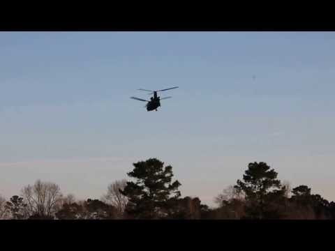 Army Helicopter in Sharon Community 01/09/2014