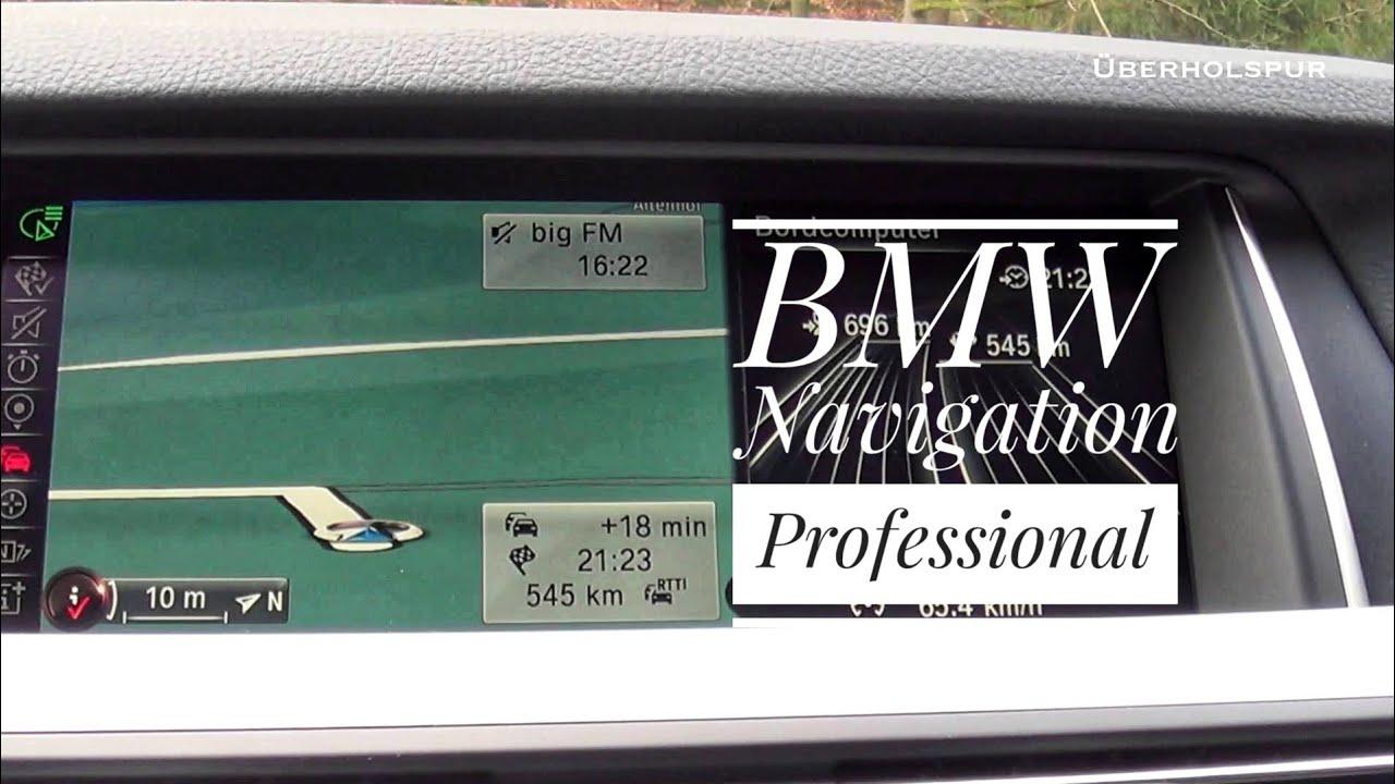 Bmw navigation professional navigations und infotainment system aus dem bmw 5er 2016 test