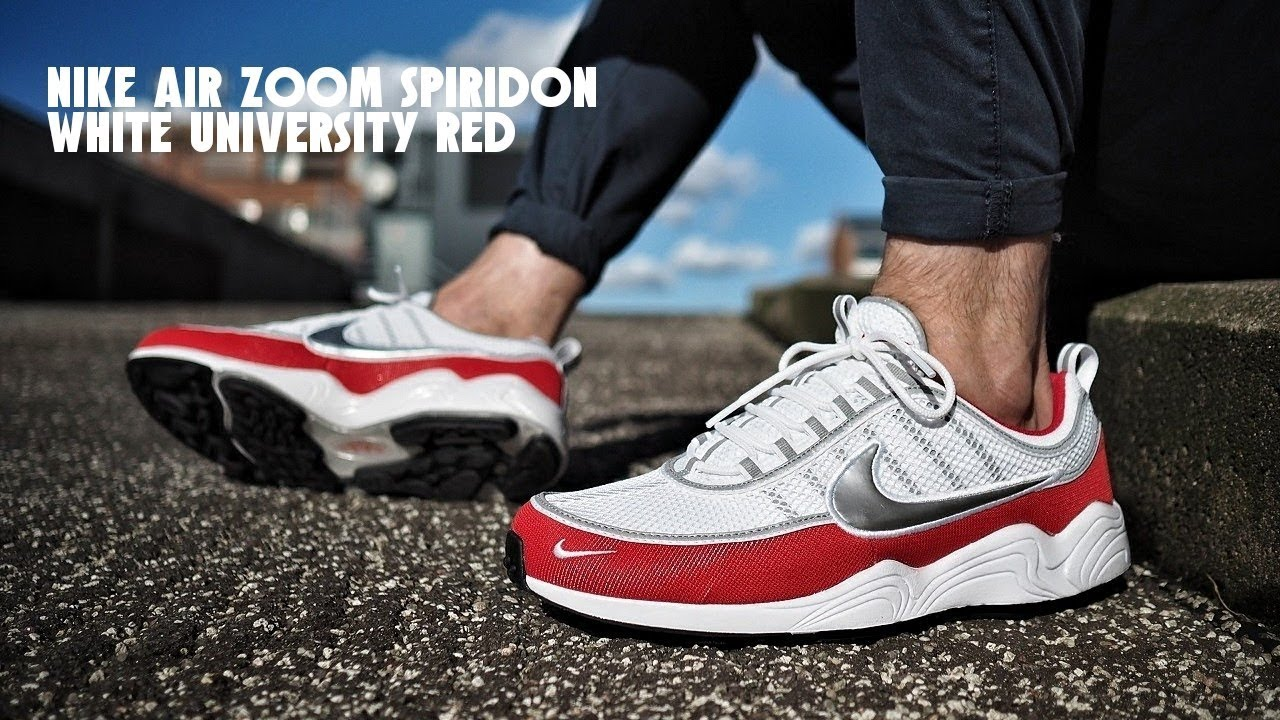370662359ac75 More dope than Nike Air Max 1 OG? Nike Air Zoom Spiridon White University  Red