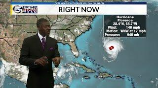Category 4 Hurricane Florence Targets Carolinas