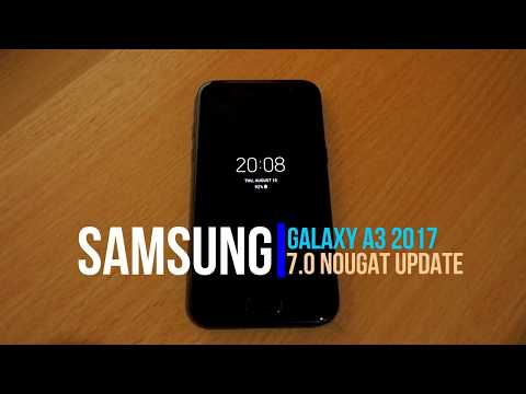 Android 7.0 Nougat update for Galaxy A3 2017 Review & What's New