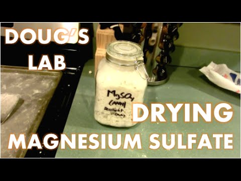 Dehydrating Magnesium Sulfate