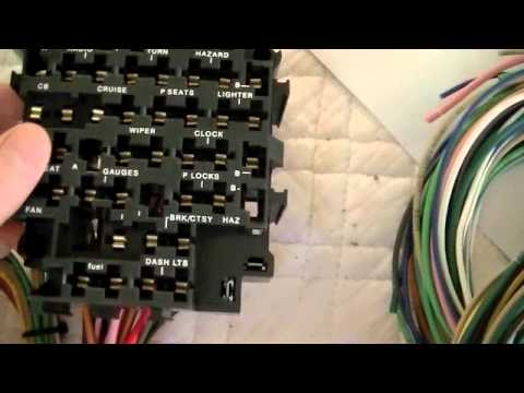 hqdefault part 5 c10 wiring repair universal wiring harness youtube chevy c10 wiring harness at panicattacktreatment.co