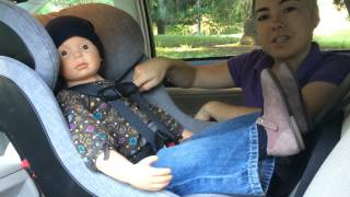 How To Buckle a Toddler or Big Kid in a Car Seat