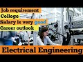 Electrical engineering in Canada - highest salary wage college job requirement bachelor master