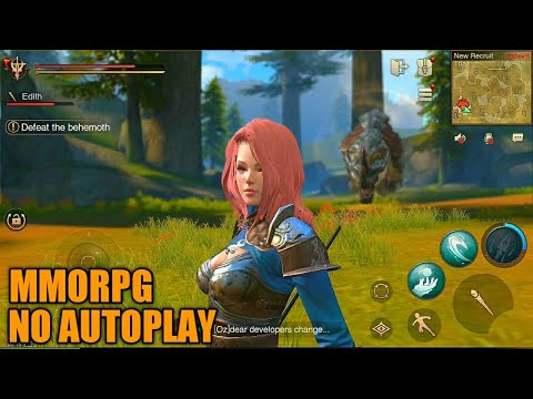 Top 5 MMORPG No Autoplay For Mobile 2020 | Android & IOS (S-WORLD)