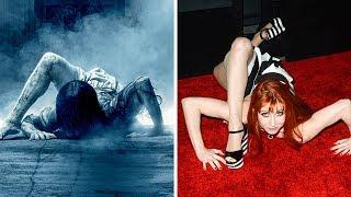 كيف يبدو ممثلو أفلام الرعب في الحقيقة