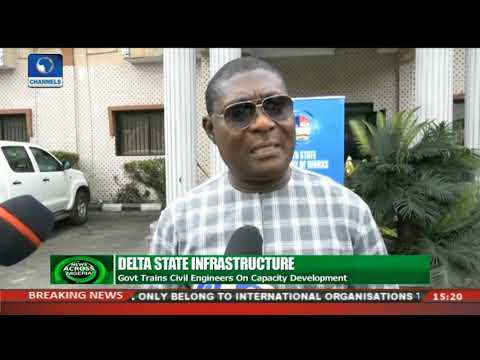 Delta State Govt. Trains Civil Engineers On Capacity Development