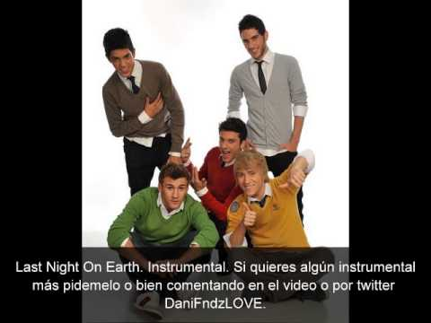 Last Night On Earth - Auryn (Karaoke instrumental sin letra)