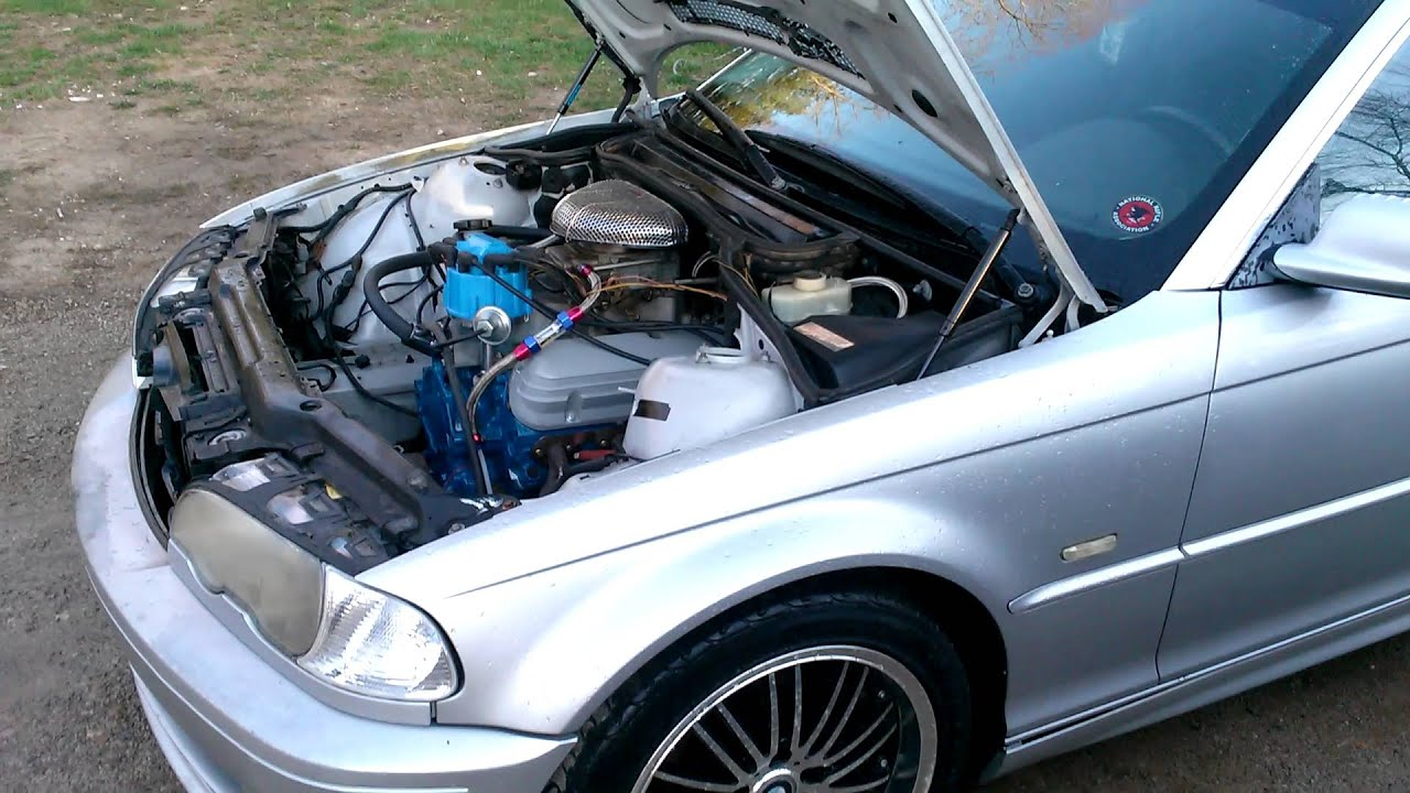 E46 Bmw With Ford V8 5 0 Youtube