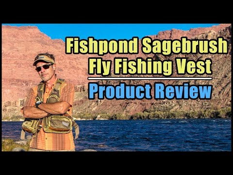Fishpond Sagebrush Mesh Fly Fishing Vest Review | 2018