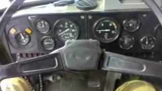 Запуск Урала/ Ural truck cold start