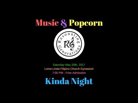 (Part 1 - Sacred Songs) R.G. Concert: Music & Popcorn Kinda Night - LIVE