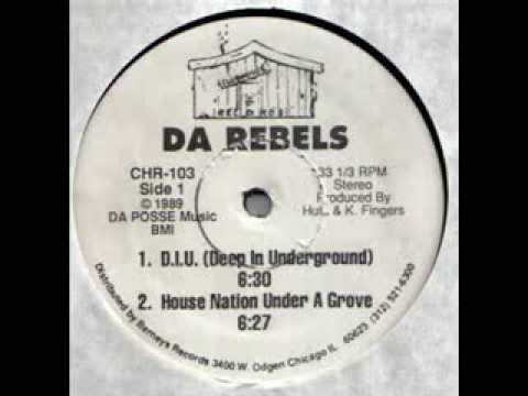 DA Rebels - House Nation under a groove