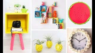 DIY ROOM DECOR! Easy Crafts Ideas at Home⚠️🔥♥ - 15-MINUTE CRAFTS COMPILATION For 2018