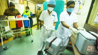 Covid-19: Preparations underway for vaccination drive at Pune's Kamala Nehru Hospital