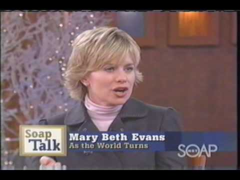 Mary Beth Evans on SoapTalk