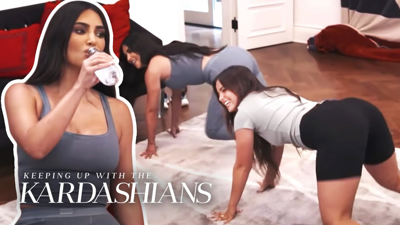 Kim Kardashian Takes TikTok Dance Lessons From Addison Rae | KUWTK | E!